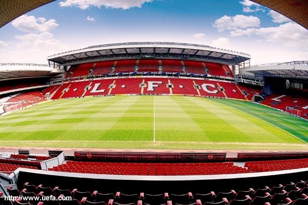 Wyjazd na Anfield Road - stadion LFC