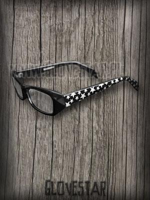 Okulary w gwiazdki czarne :: Glovestar