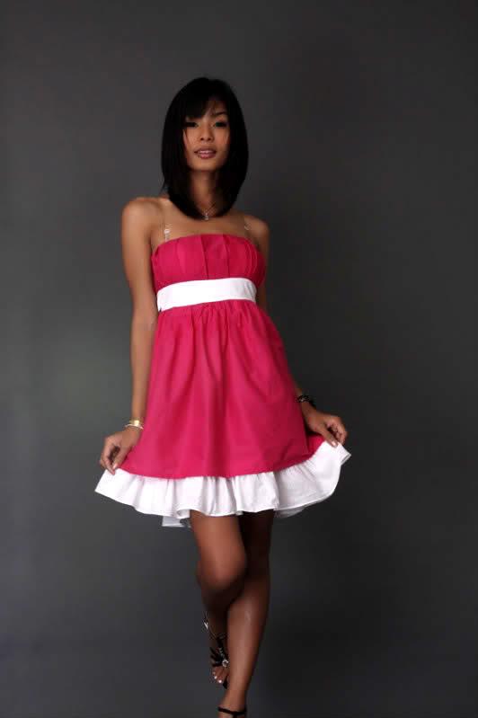 Różowa sukienka ;)