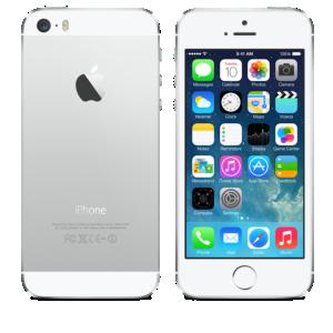 iPhone 5s biało-srebrny 16GB
