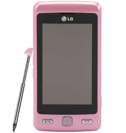 Telefon LG COOKIE Rózowy