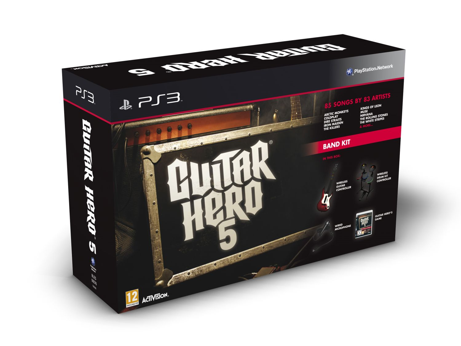 Guitar Hero 5 na PS3