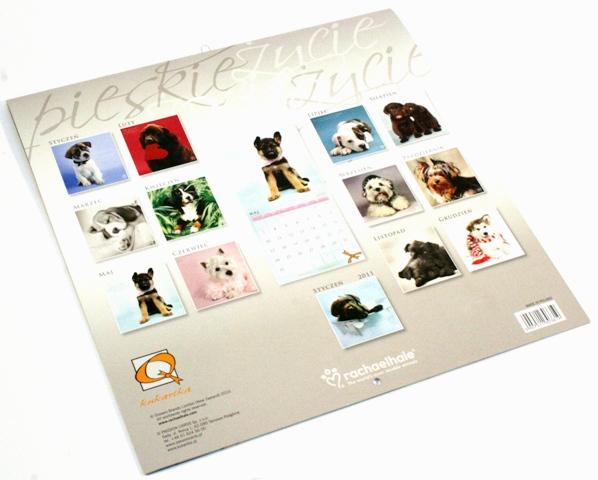 Kalendarz 2010 - Psy