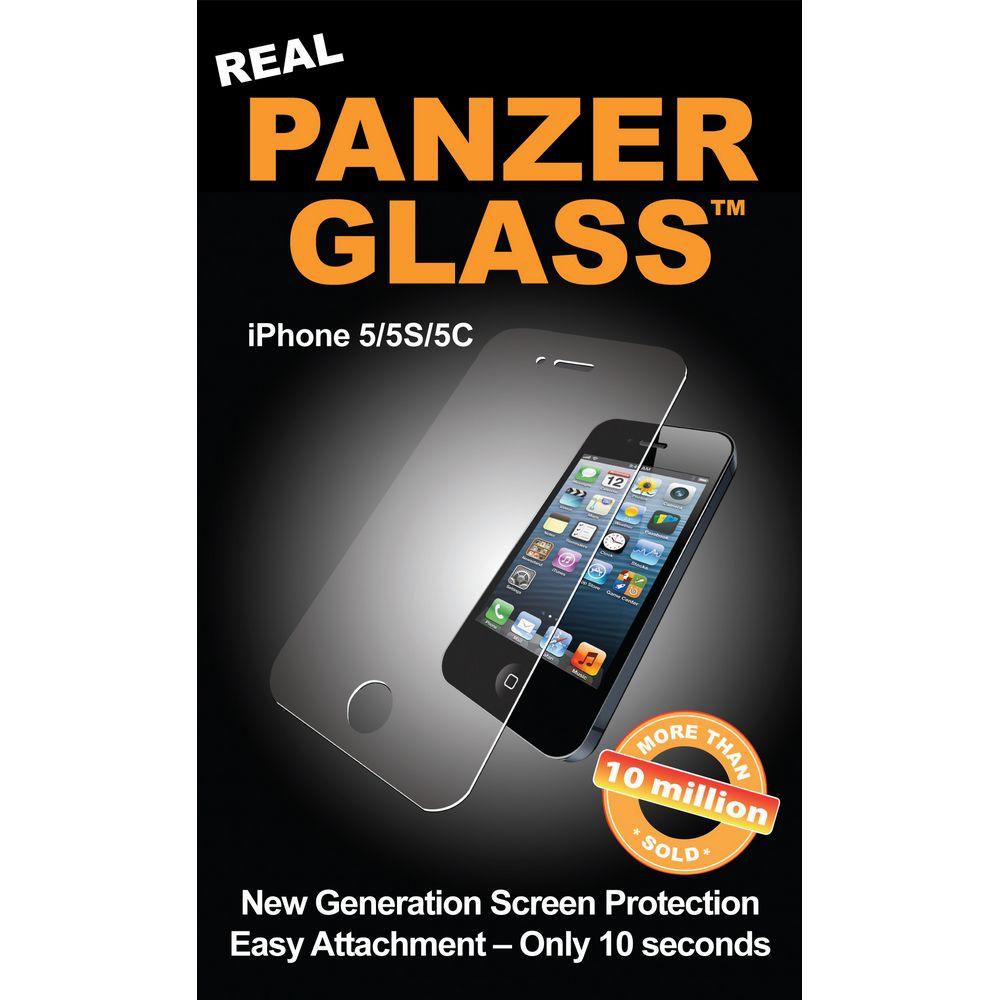 PANZER Szkło ochronne iPhone SE/5S/5
