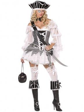 kostium sexi piratka