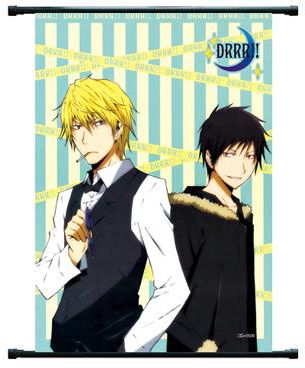 Izaya and Shizuo Wallscroll Durarara!!