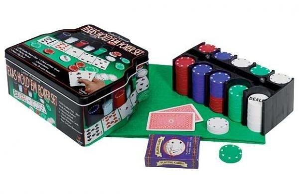 ZESTAW DO POKERA - TEXAS HOLDEM