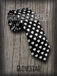 Krawat  w serduszka