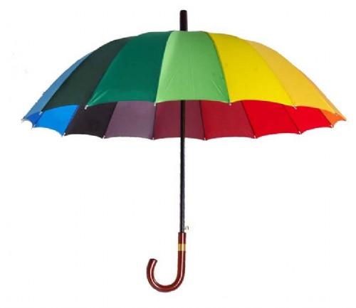 Tęczowa parasolka