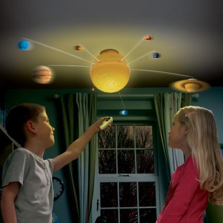 Układ słoneczny- lampa