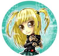 Przypinka Misa Death Note