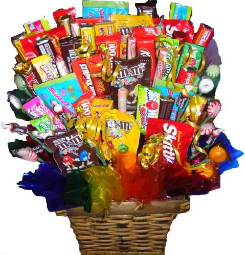 Koszyk wszystkich słodyczy na świecie ;]