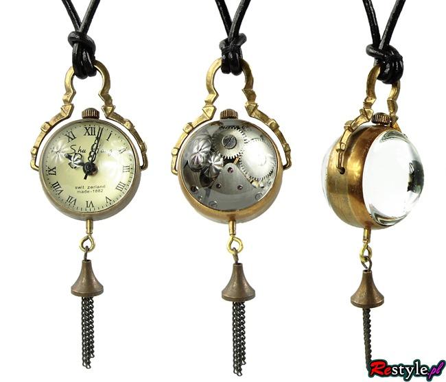 Steam punkowy zegarek kula