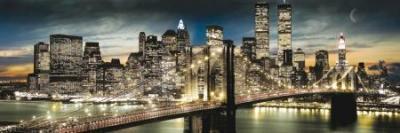 Manhattan, New York - plakat 91,5x30,5cm
