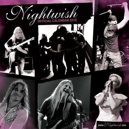 Oficjalny kalendarz Nightwish 2010