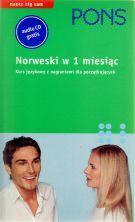Pons - Norweski w 1 miesiąc (Książka + CD)