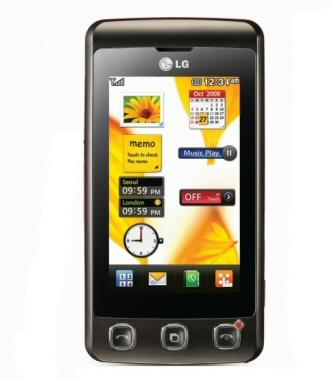 Telefon LG z dotykowym ekranem