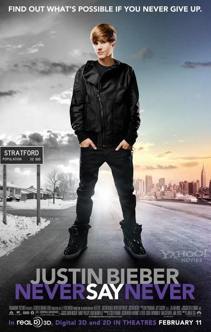 film ,, Justin Bieber Never Say Never''