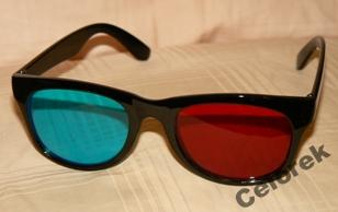 OKULARY 3D (red & blue/cyan)