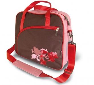Czerwona torba na rower basil prima vista