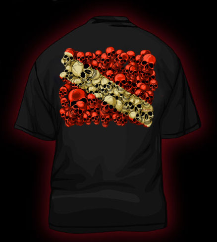 Koszulka DEEP DOWN Skull Dive