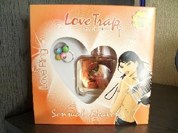 CHUPA CHUPS LOVE TRAP-woda toaletowa+pierścionek (503330884) - Aukcje internetowe Allegro