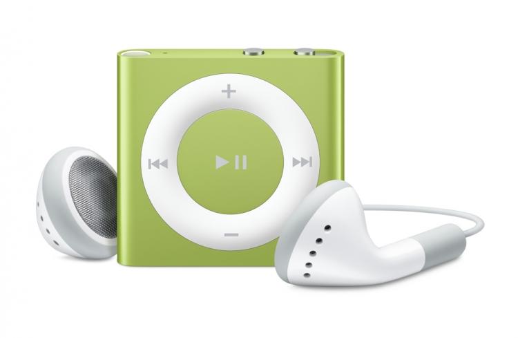 Apple, iPod Shuffle 2GB - 6 gen - zielony