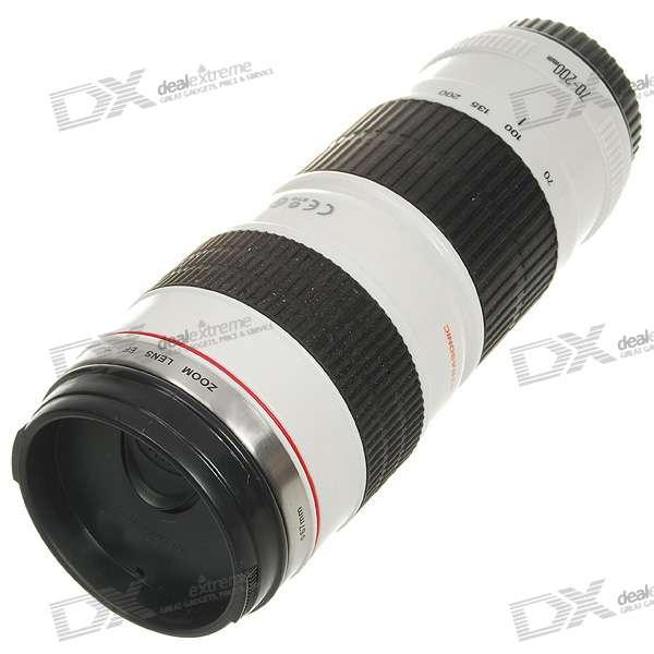 Kubek termiczny w kształcie obiektywu Canon EF 70-200mm USM