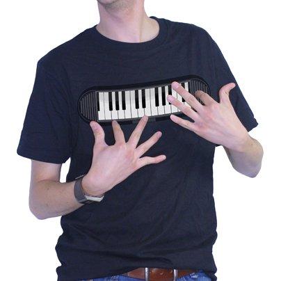 Koszulka z pianinem