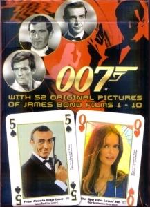 Karty do gry - James Bond