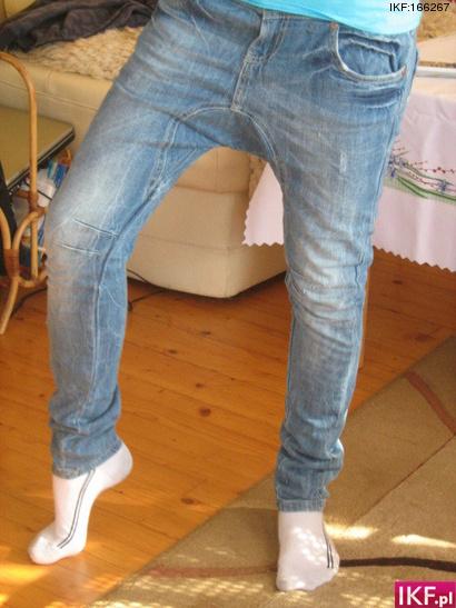 Pumpy jeansowe