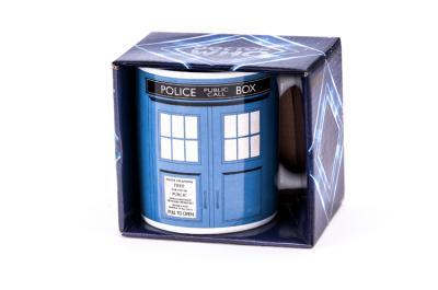 Kubek ceramiczny Tardis Doktor Who 350ml