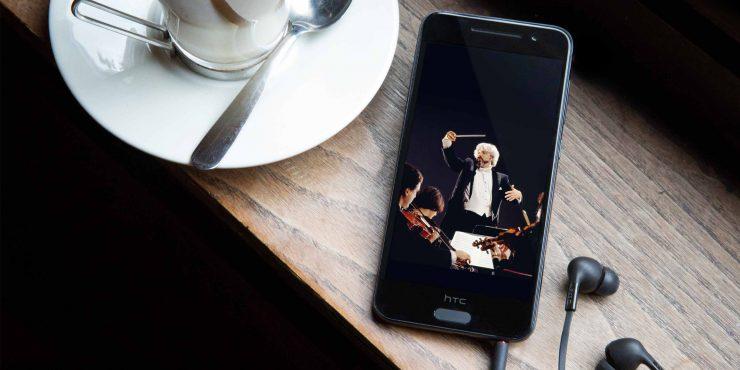 Muzyczny smartfon