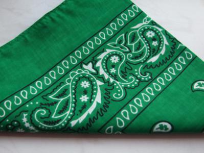 Zielona bandamka