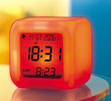 Zegar kameleon - zmienia kolor! (5 kolorów)