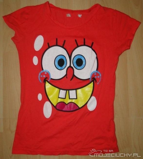 Czerwona koszulka SpongeBob