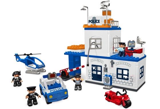 klocki lego posterune policji