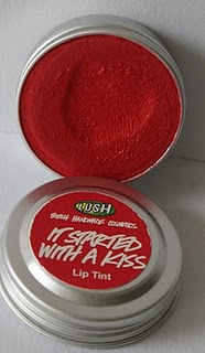 LUSH - Lip Tint  kolor: It started witch a kiss