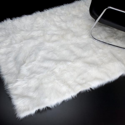 Biały dywan allegro