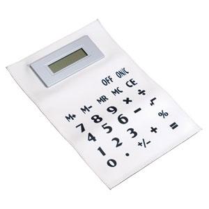 Zwijany gumowy kalkulator