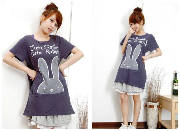 Tunika Japan Style z króliczkiem ^^