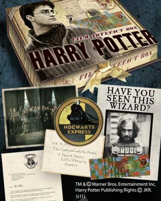 Zestaw pamiątek Harry'ego