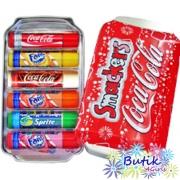 Zestaw balsamów do ust Coca Cola™ Lip Smacker® Collection w zamykanej puszce Coca Cola™