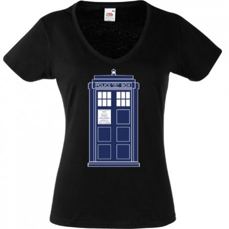 Koszulka ,,Tardis'' Doctor Who