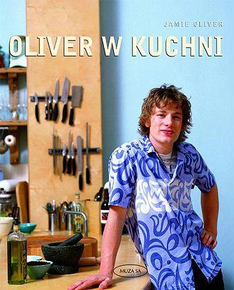 Książka kucharka Jamie Olivera