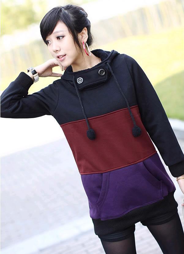 Bluza z kapturem Japan Style - Retro