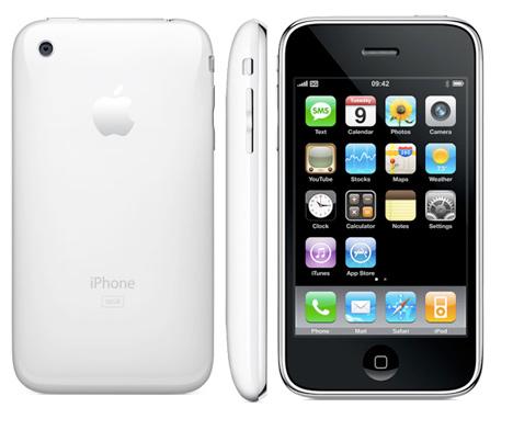 iPhone biały