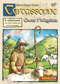 Carcassonne: 9. dodatek - Owce i wzgórza