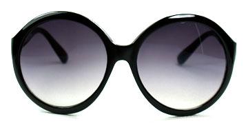 Wielkie okulary przeciwsłoneczne