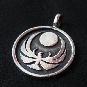 Wisiorek Skyrim Nightingales (srebro)